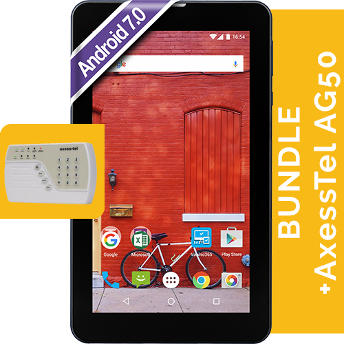 Pluri C7 Dark-grey, Alarma Axesstel Ag50 Bundle